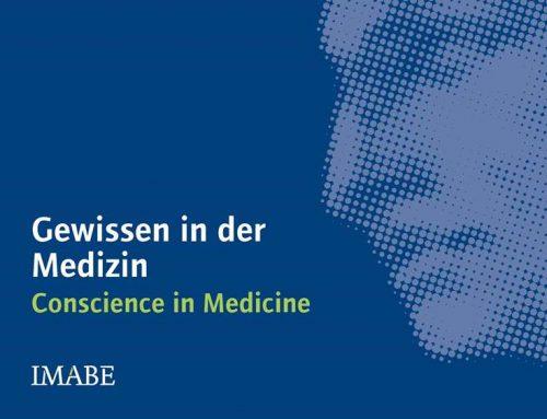 Ö / Buchtipp: Imago Hominis – Gewissen in der Medizin