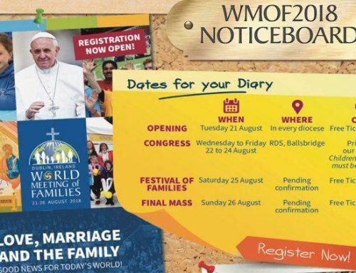 IRL / Pastoral: Weltfamilientreffen 2018 in Dublin