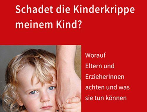 Buchtipp: Schadet die Kinderkrippe meinem Kind?