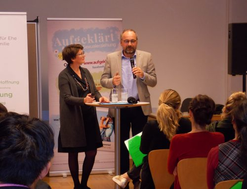 Vortrag Sexualerziehung des Ehepaars Büchsenmeister am 5.11.