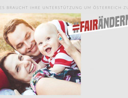 Ö/ Pro-Life: Bürgerinitiative #Fairändern im Parlament