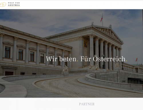 """Ö / Politik: Die Online-Initiative """"Pray for Austria"""" ruft zum Gebet für österreichische Politiker auf."""