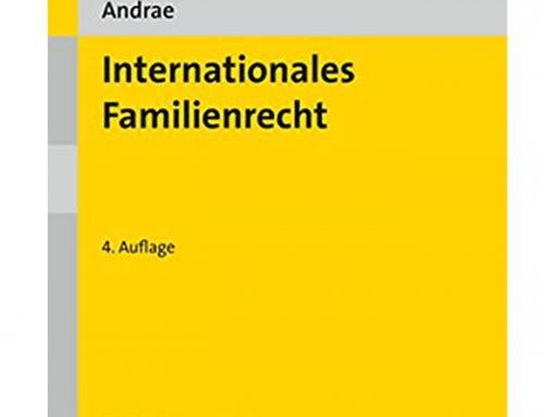 Buchtipp: Internationales Familienrecht